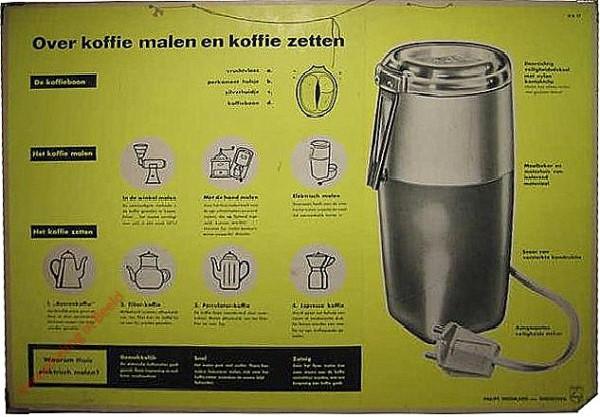 Over koffie malen en koffie zetten