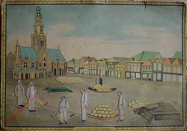 Kaasmarkt te Alkmaar