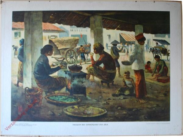 1 - Pasar in het binnenland van Java