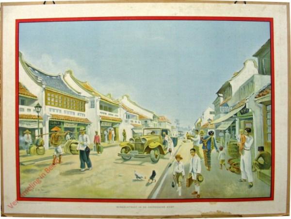 9 - Winkelstraat in de Chineesche Kamp
