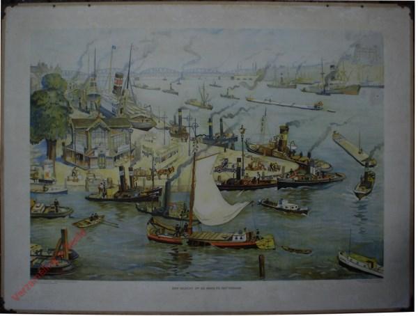 Eerste serie, IIIB - Een gezicht op de Maas te Rotterdam
