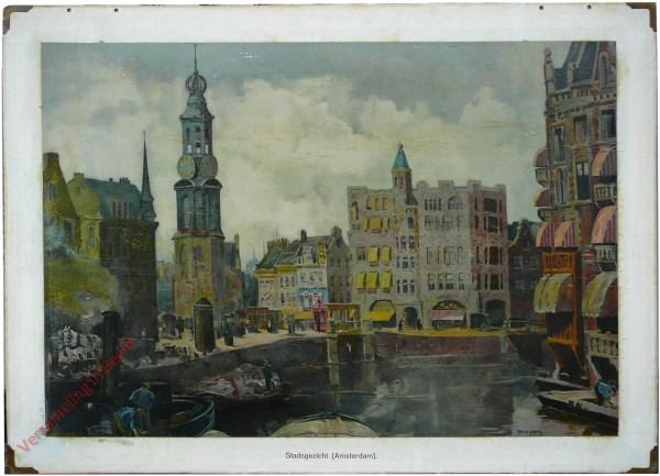 Tweede serie, VI - Stadsgezicht (Amsterdam)