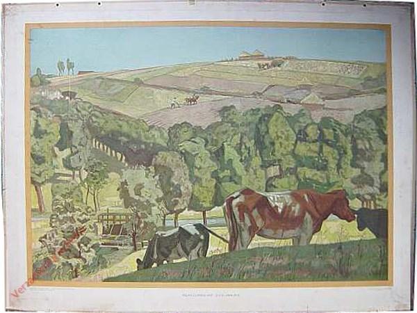 Derde serie, IX - Heuvellandschap in Zuid-Limburg