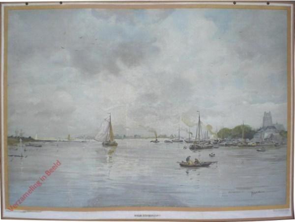 Derde serie, XA - Riviergezicht voor Dordrecht [Aug. W. van Voorden]