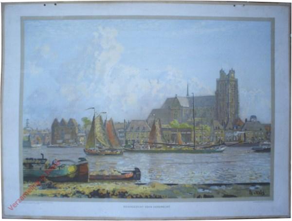 Derde serie, XB - Riviergezicht voor Dordrecht [H. Bakels, latere versie]