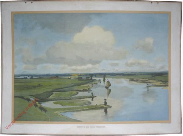 Vijfde serie, XIX - Gezicht op den Rijn bij Wageningen
