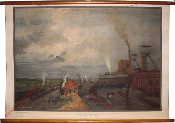 Zevende serie, XXV - De kolenmijn 'Oranje Nassau I' te Heerlen