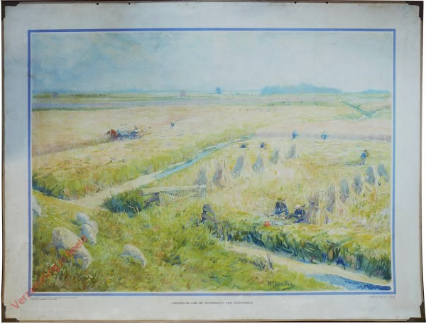 Zevende serie, XXVII - Landbouw aan de Noordkust van Groningen [H.J. Wolter]