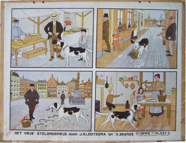 Tweede serie, Nr 3 - Hoe een Hond Palingen thuis bracht [E�n hond]