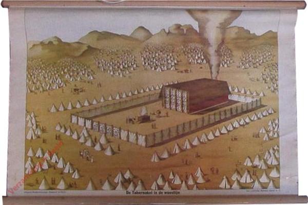[Serie 1] nr 2 - De Tabernakel in de woestijn. De Voorhof
