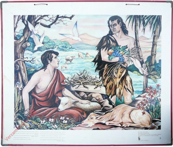 6 - en Jahweh zag genadig neer op Abel en zijn offer