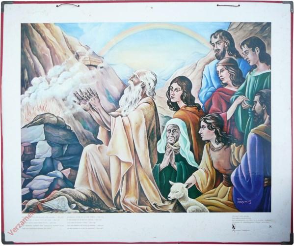8 - Toen bouwde noë een altaar voor Jahweh