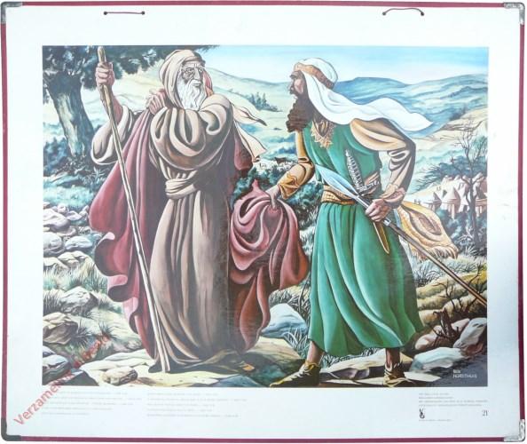 21 - Afgescheurd heeft nu Jahweh van u het koningschap