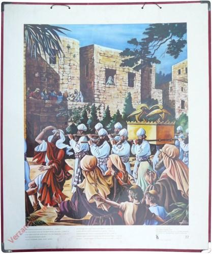 22 - Geestdriftig danste David voor Jahweh uit