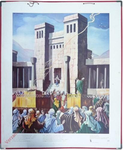 23 - De tempel die koning Salomon voor Jahweh bouwde