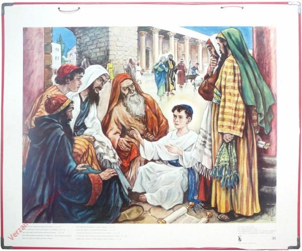 36 - Na drie dagen vonden ze hem in de tempel
