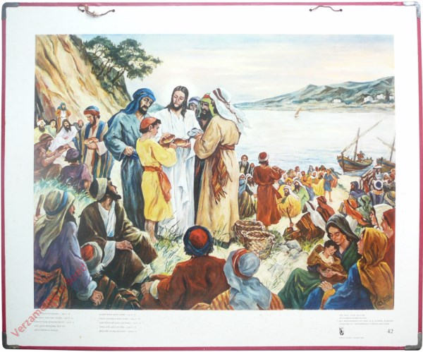 42 - Nu nam Jesus de broden