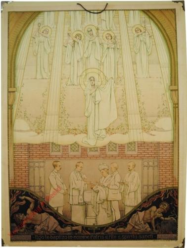Ego te baptizo in nomine Patris et Filii et Spiritu sancti