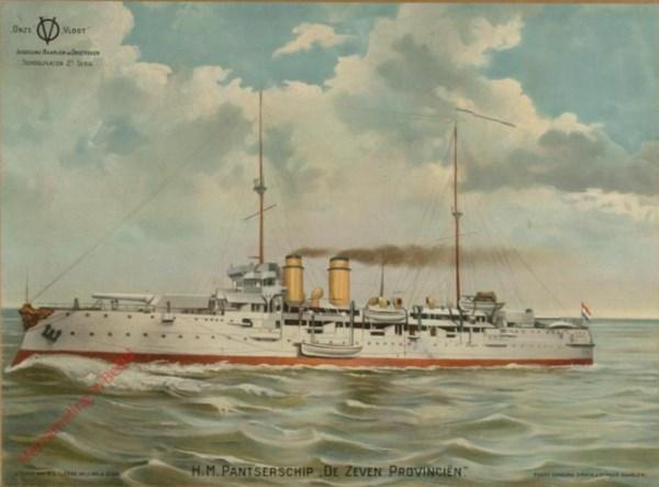 2e serie, nr 6 - H.M. Pantserschip  de Zeven Provinci�n