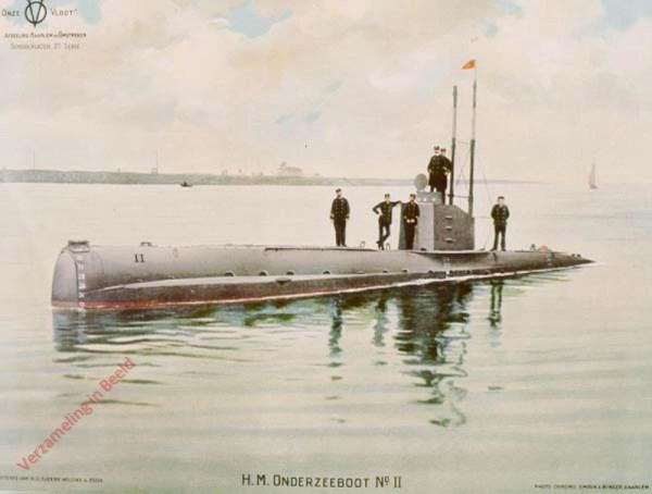 2e serie, nr. 7 - H.M. Onderzeeboot No II
