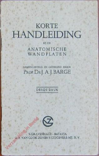 1e druk - Korte handleiding bij de Anatomische Wandplaten