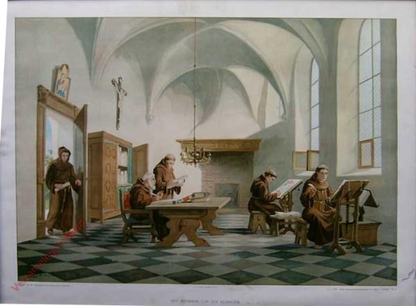 2e serie, nr4 - Het interieur van een klooster