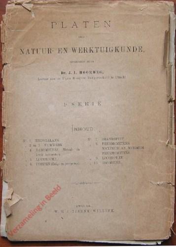 Handleiding - Platen voor Natuur en Werktuigkunde, 1e serie