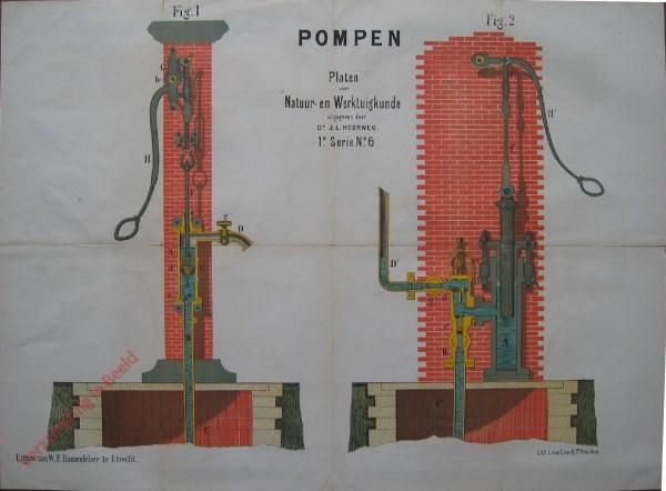 1e serie, No. 6 - Pompen (Zuig- en perspomp)