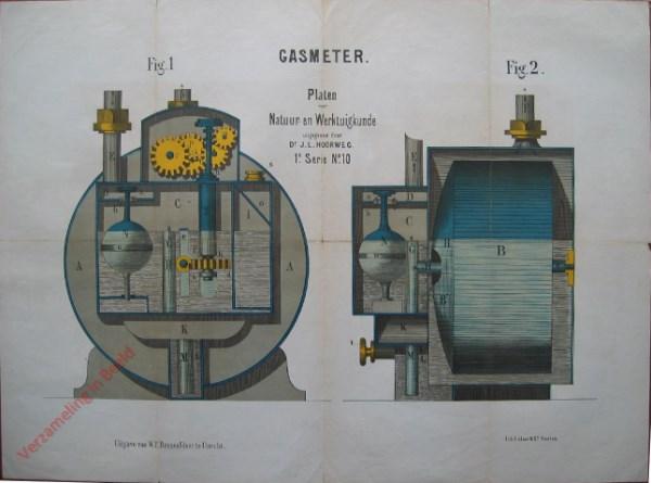 1e serie, No.10 - Gasmeter