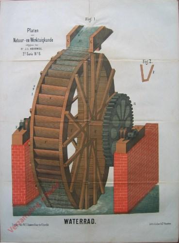2e serie, No. 6 - Waterrad