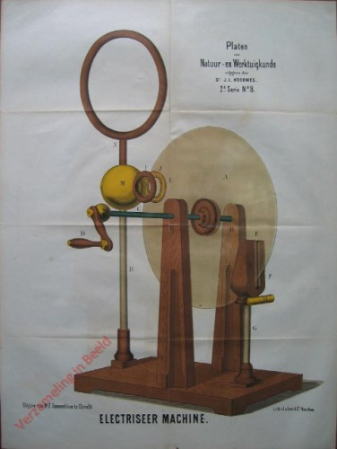 2e serie, No. 8 - Electriseermachine