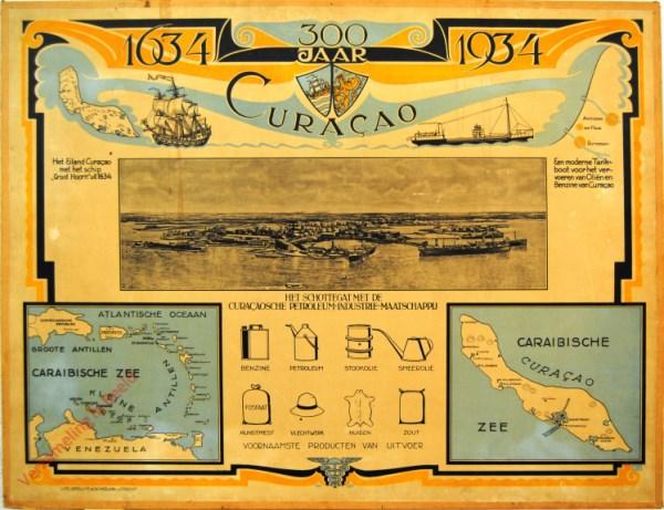 3 - 300 jaar Curacao, 1634-1934