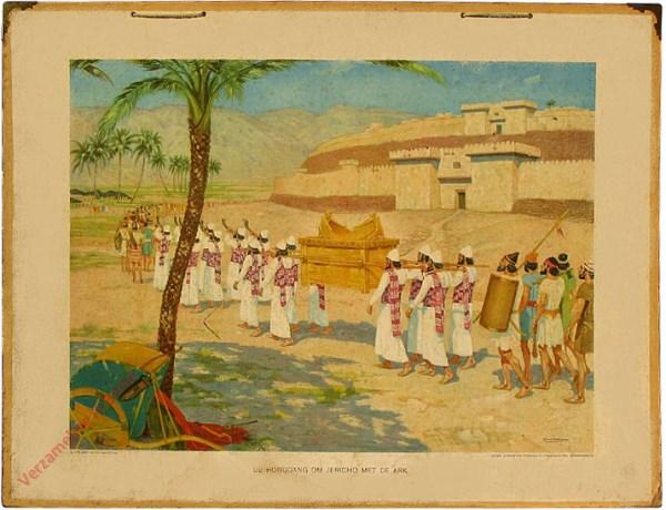 6 - De rondgang om Jericho met de Ark
