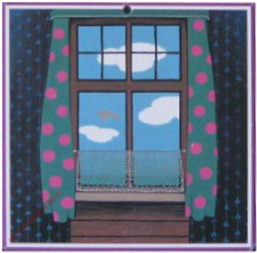 De school - raam