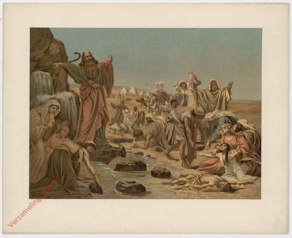 12 - Moses, Wasser a.d. Felsen schlagend