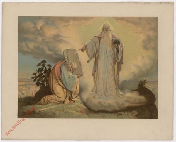 13 - Moses, die Gesetztafeln empfangend