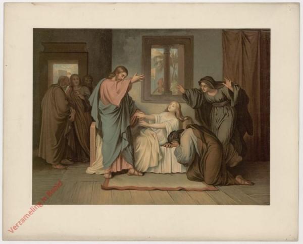 24 - Jesus als Todtenerwecker (das Töchterlein des Jairus)