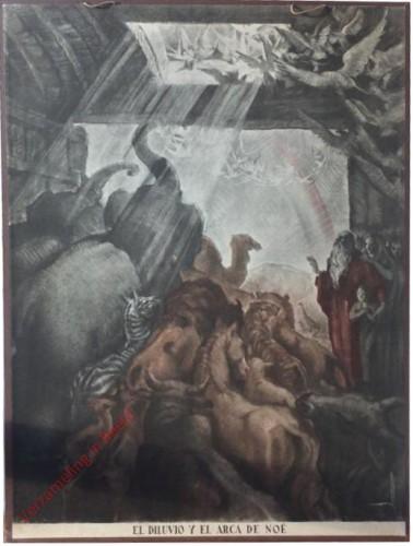El diluvio y el arca de Noë