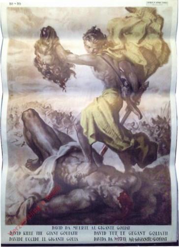 David da muerte al gigante Goliat