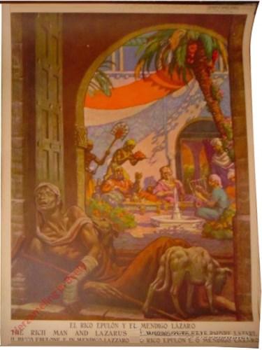 El rico y el mendigo Lazaro
