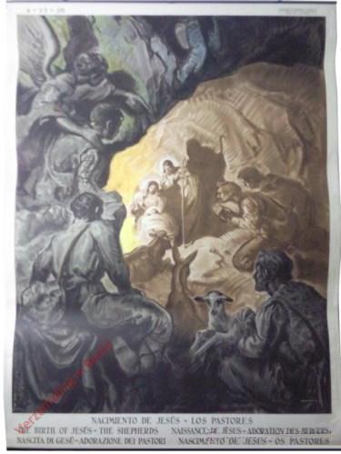 Nacimiento de Jesus los pastores