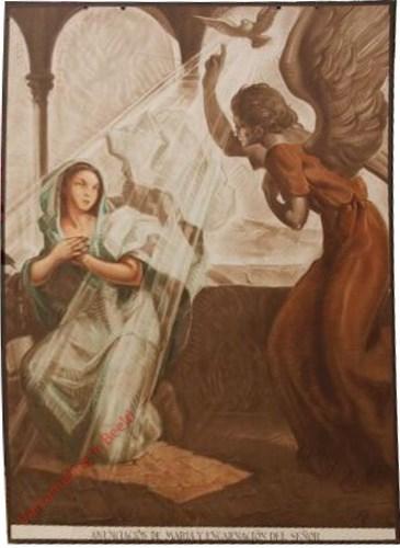Anunciacion de Maria y encarnacion del Señor