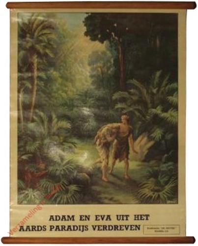 2 - Adam en Eva uit het aards paradijs verdreven