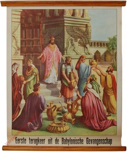 12 - Eerste terugkeer uit de Babylonische gevangenschap