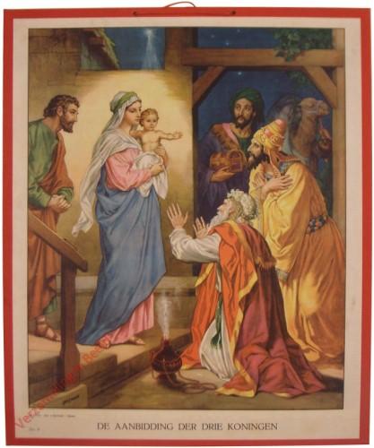 16 - De aanbidding der drie koningen