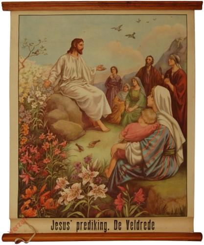 23 - Jesus' prediking. De veldrede