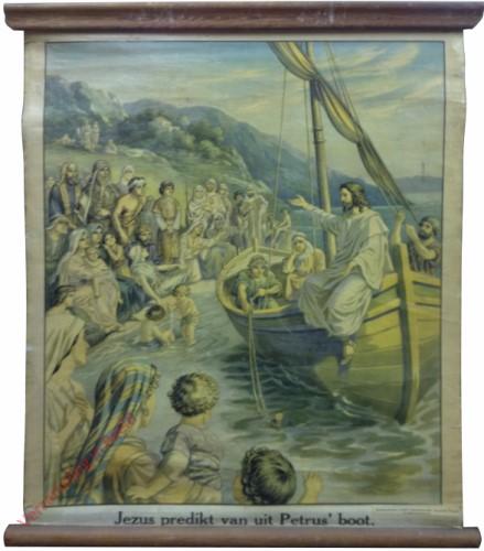 26 - Jezus predikt van uit Petrus' boot