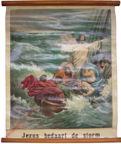 29 - Jezus bedaart de storm