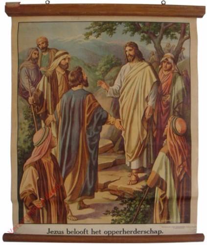 31 - Jezus beloofd het opperherderschap [Baert]