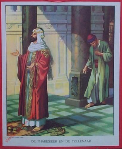 41 / Rol 4 nr 3 - De Farizee�r en de tollenaar